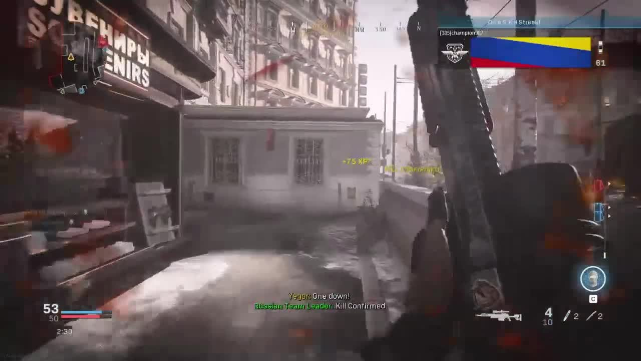 Call of Duty: General - From when I tried out mouse and keyboard on MW. The movement was weird to get used to video cover image 1