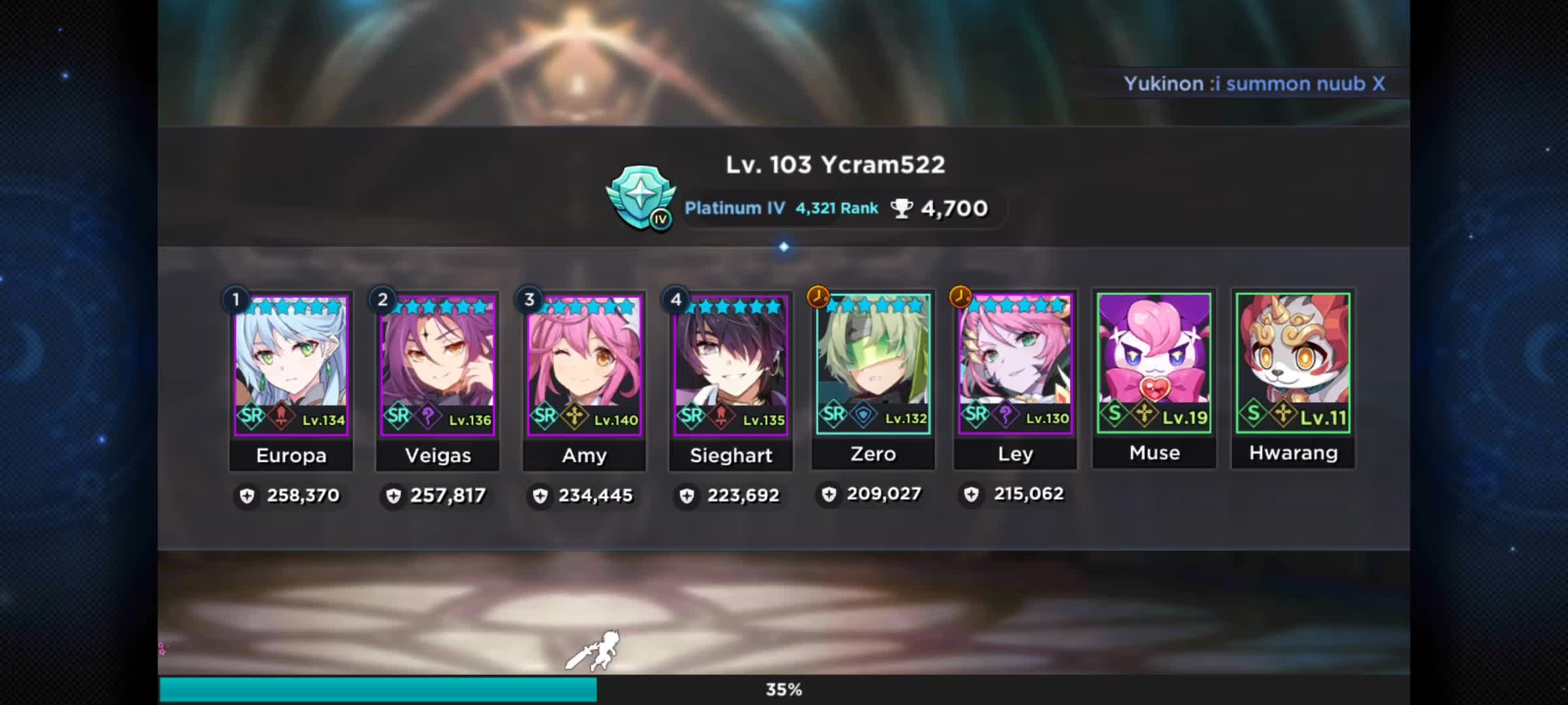 GrandChase - GLOBAL EN: Hacker Report - Do you think he's a cheater? video cover image 1