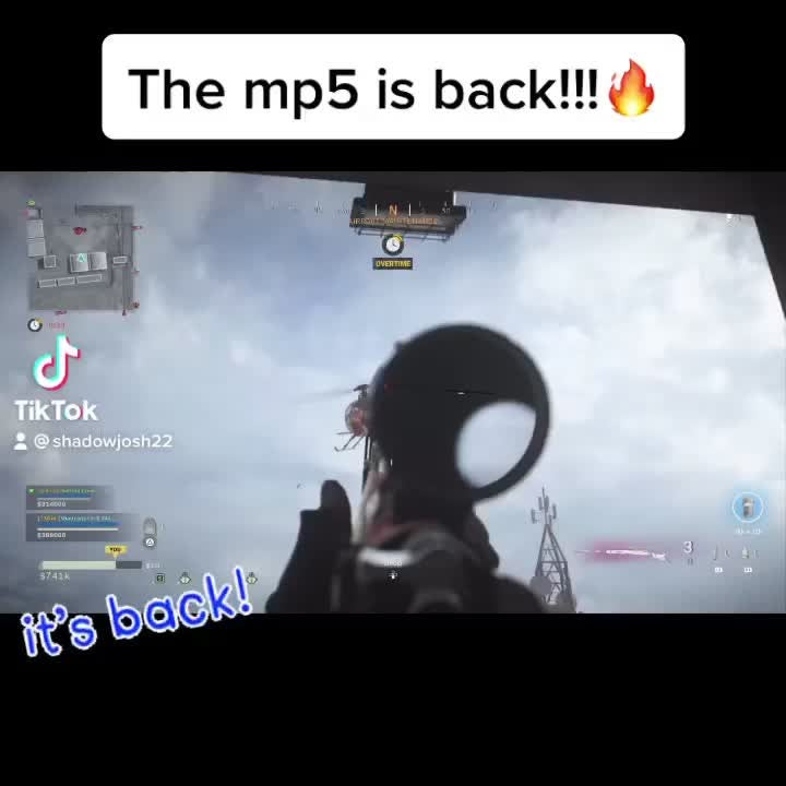 Call of Duty: General - The mp5 is back🔥🔥 video cover image 0