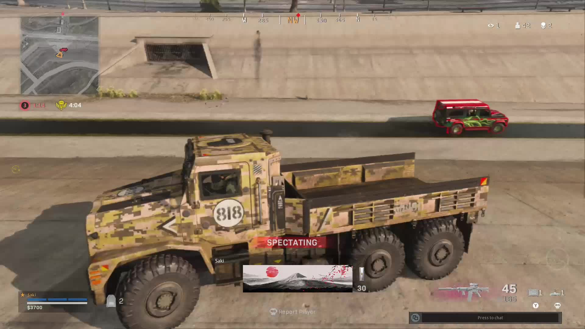 Call of Duty: General - What in the actual F*CK am I spectating?? 😆 🚚🚙💥 video cover image 0