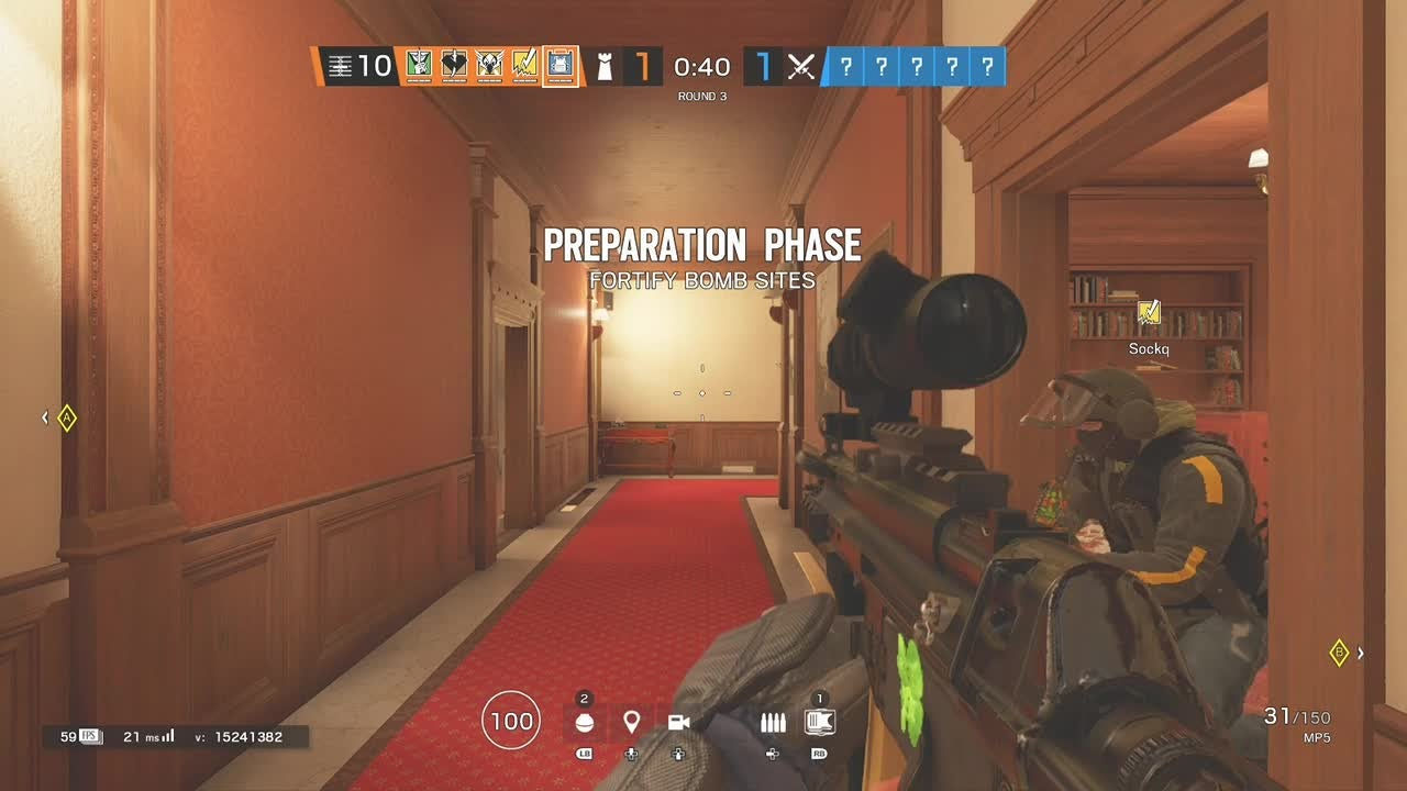Rainbow Six: General - Drone ace (skip to 15 seconds) video cover image 1