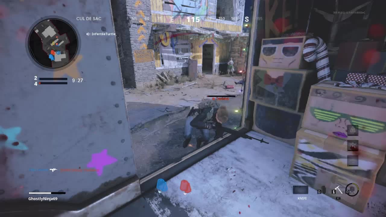 Call of Duty: POTG - Knife Quad Feed (5 man)  video cover image 1