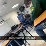 The gay kid freestyling in my class 😂