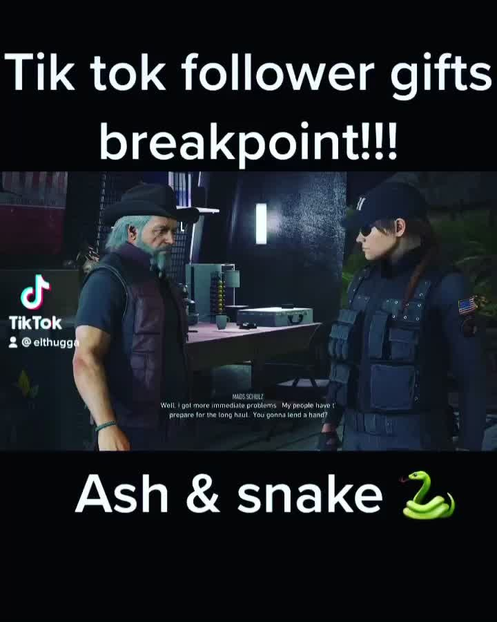 Rainbow Six: General - Elthugga on TikTok for Tom Clancy breakpoint and siege content I follow back video cover image 0