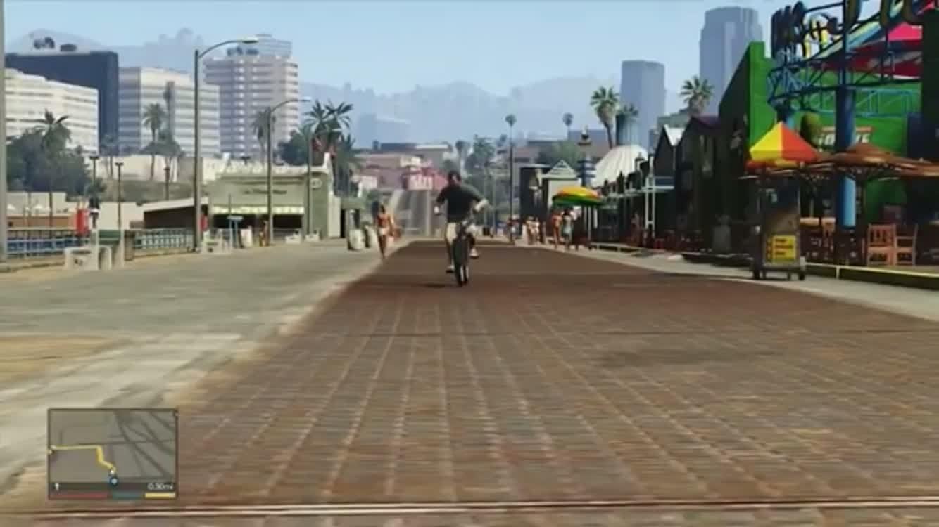 GTA: Memes - Riding A Bike video cover image 0