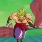 Broly travels to the Mario games lounge